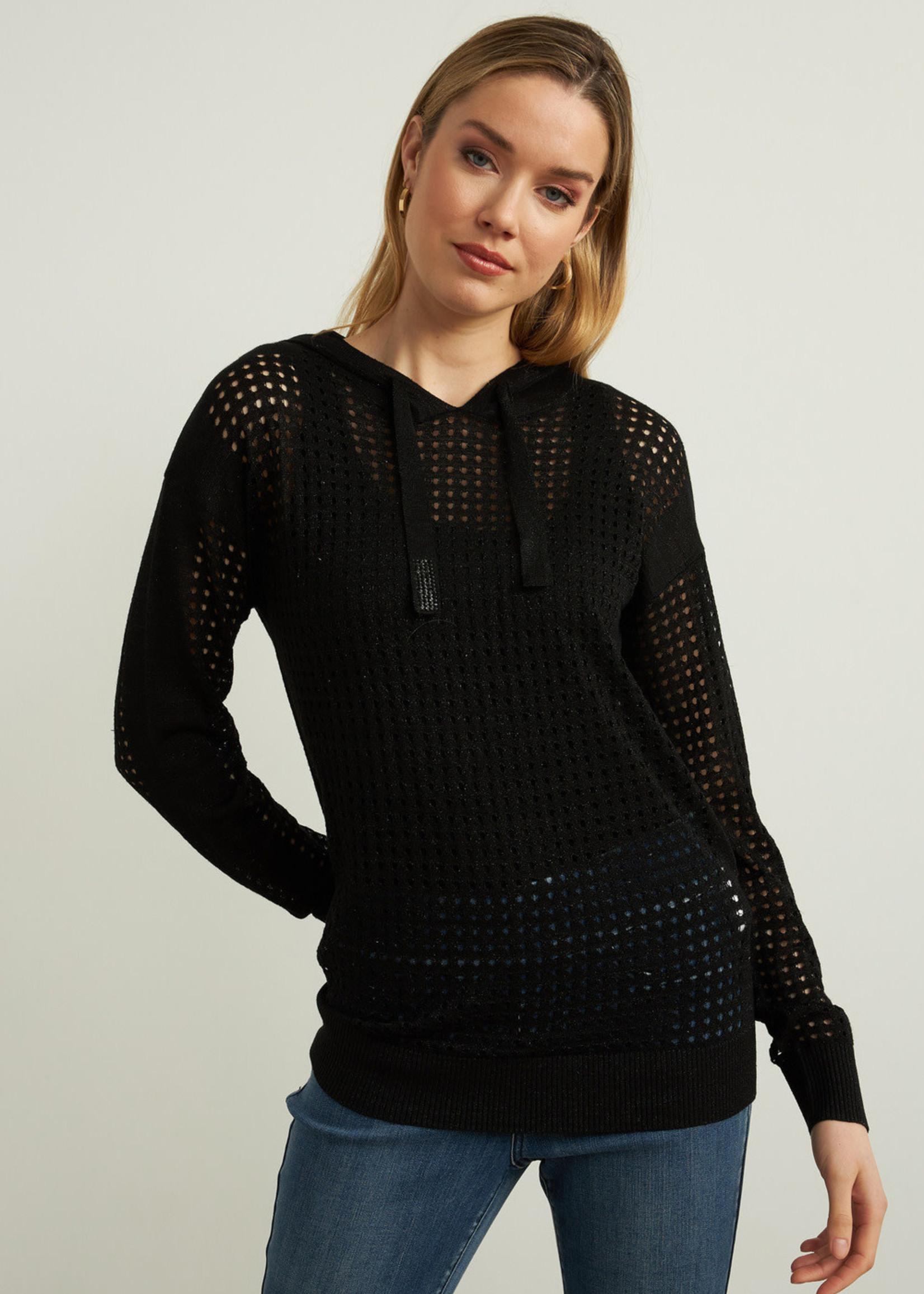 Joseph Ribkoff Joseph Ribkoff Perforated Sweater
