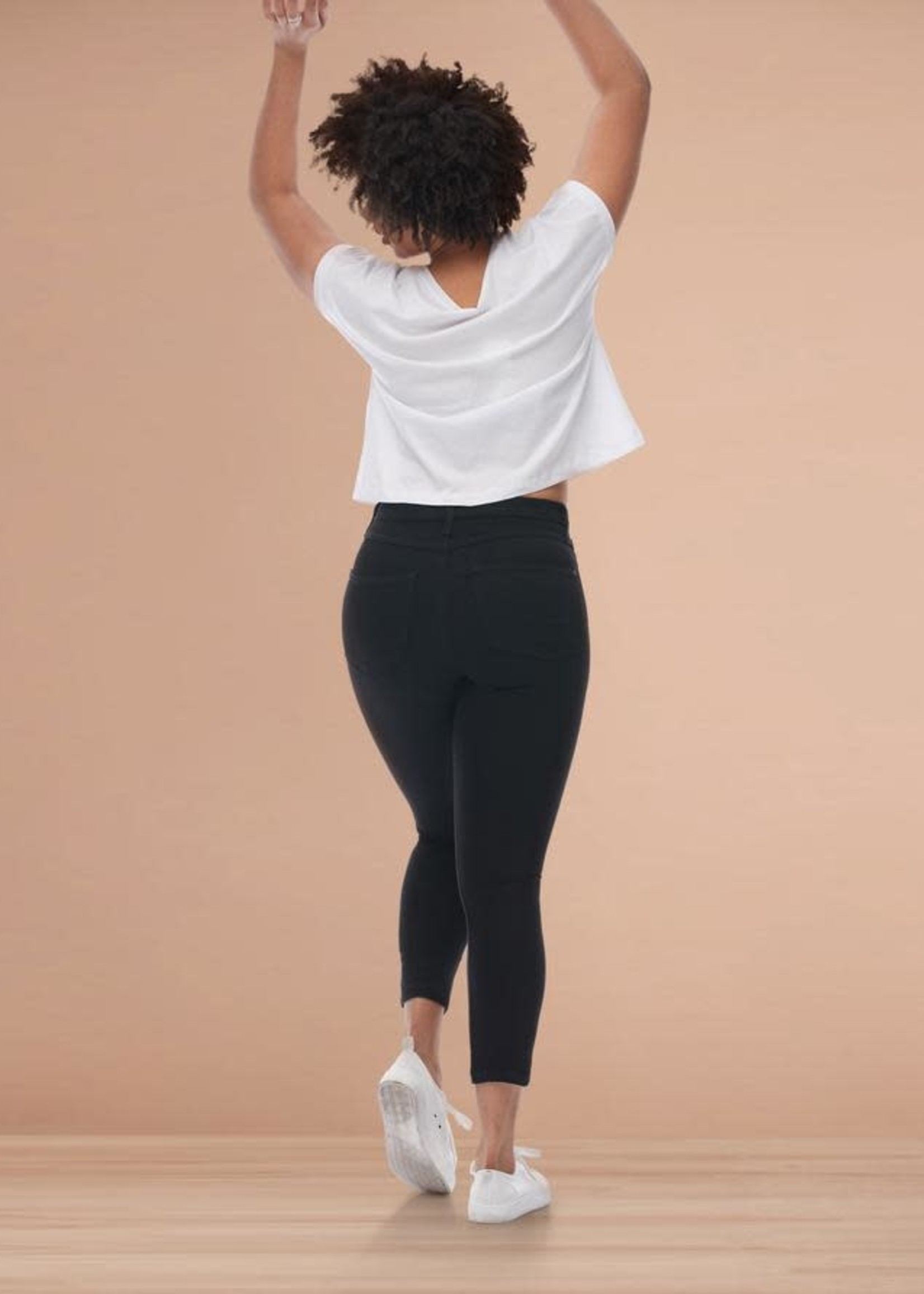 "Yoga Jeans Yoga Jeans Rachel Black 27"""