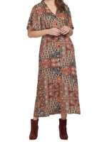 Tribal Tribal Button Front Dress
