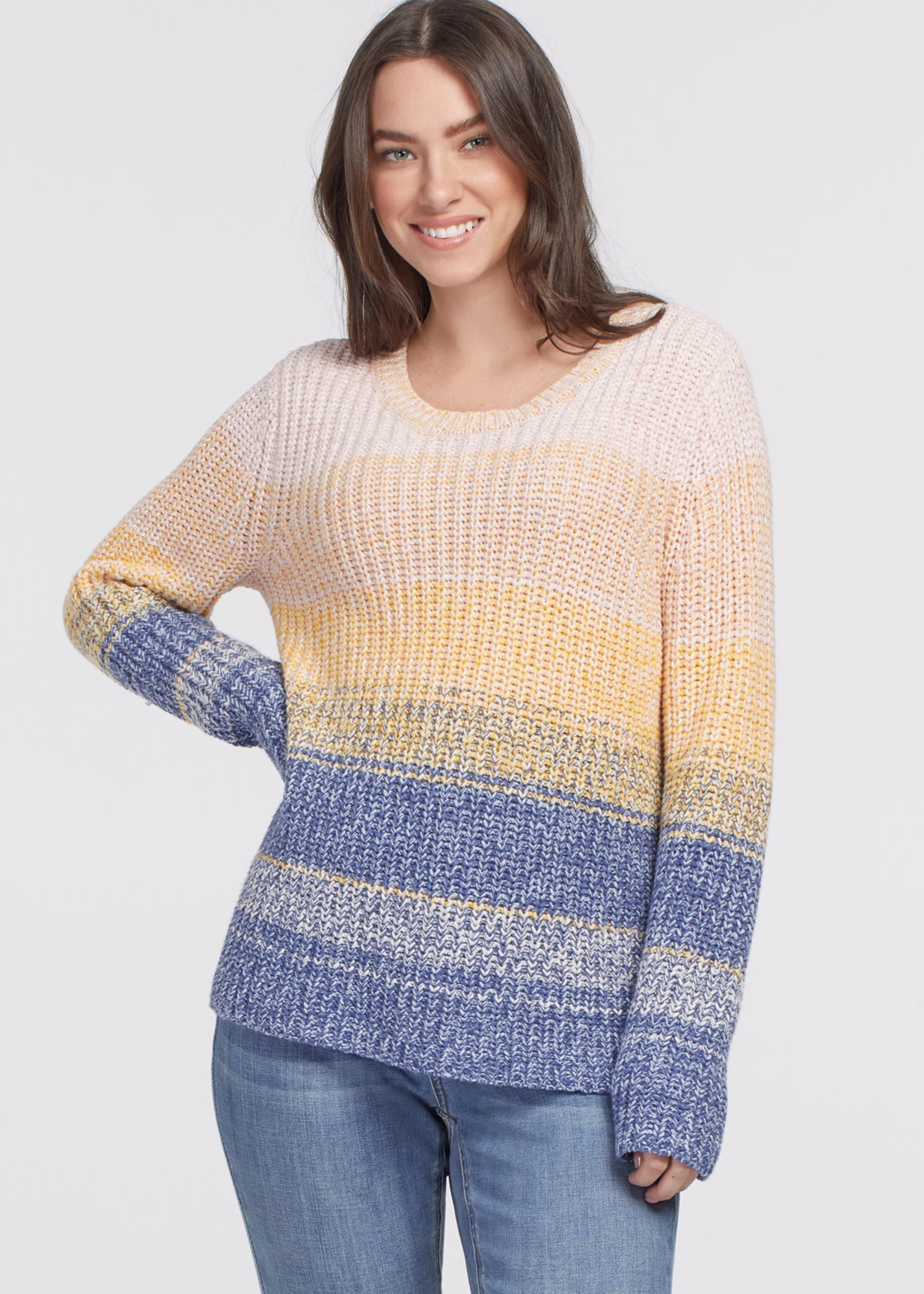 Tribal Tribal L/S Crew Neck Sweater