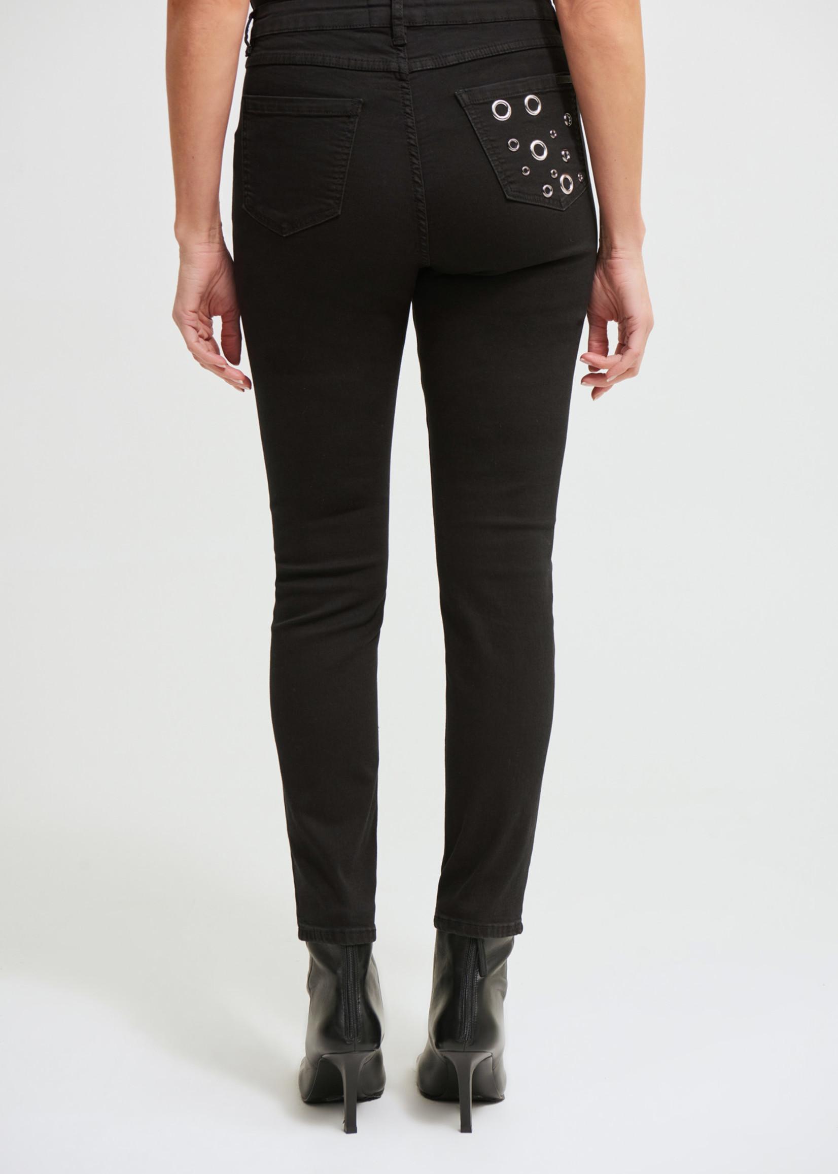 Joseph Ribkoff Joseph Ribkoff Jeans with Grommets