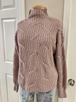 Tribal Tribal High Neck Oversize Sweater Lilac Mist