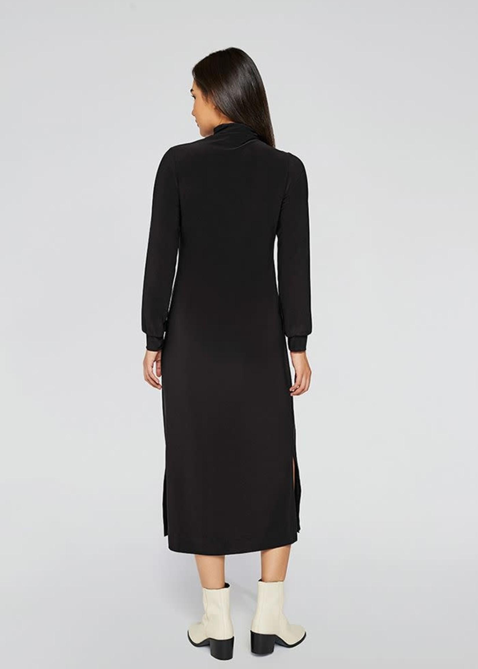 Sympli Sympli Turtleneck Gathered Sleeve Dress