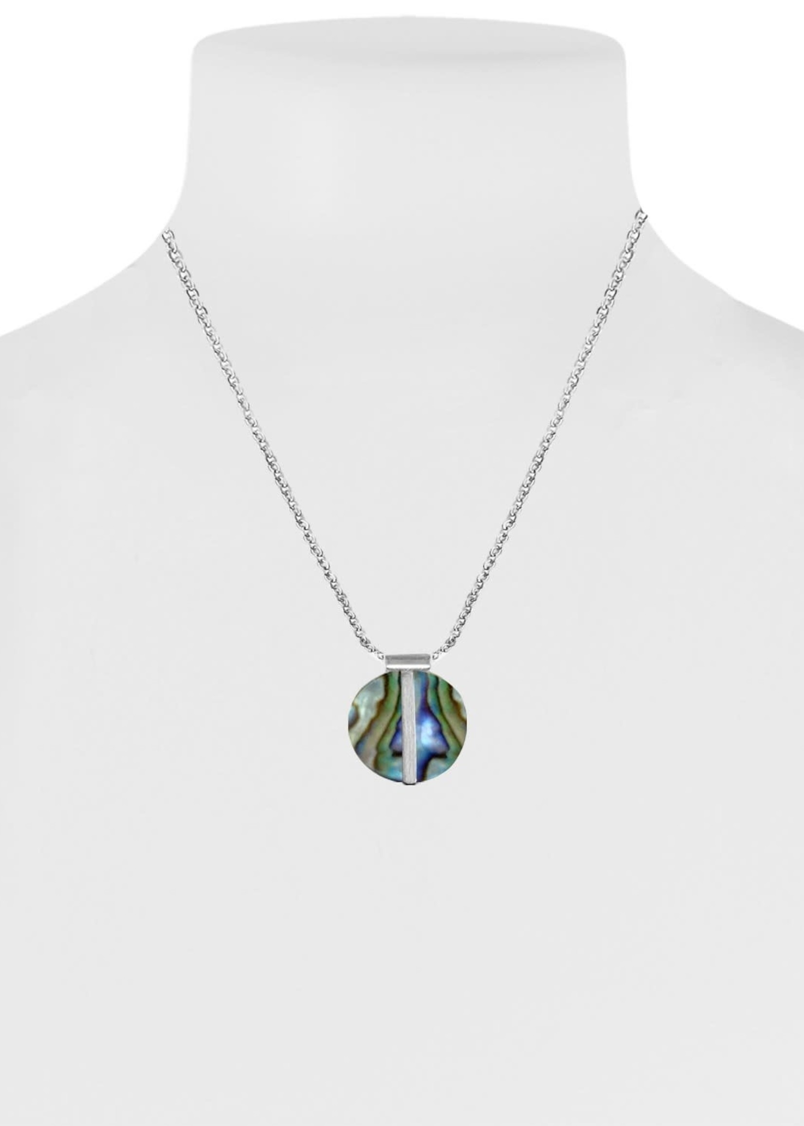 Caracol Caracol Silver and Shell Necklace