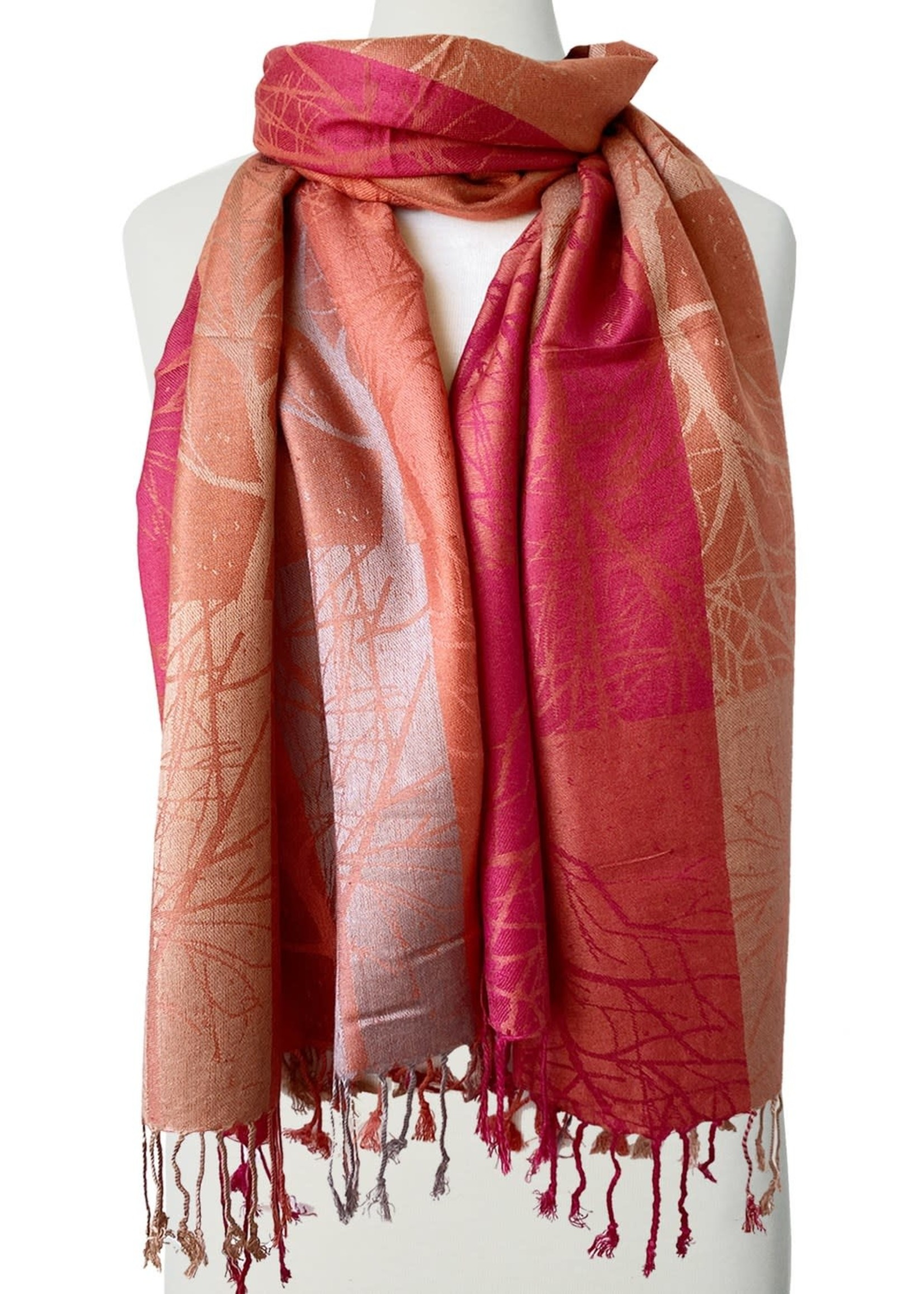Caracol Caracol Scarf  Rust