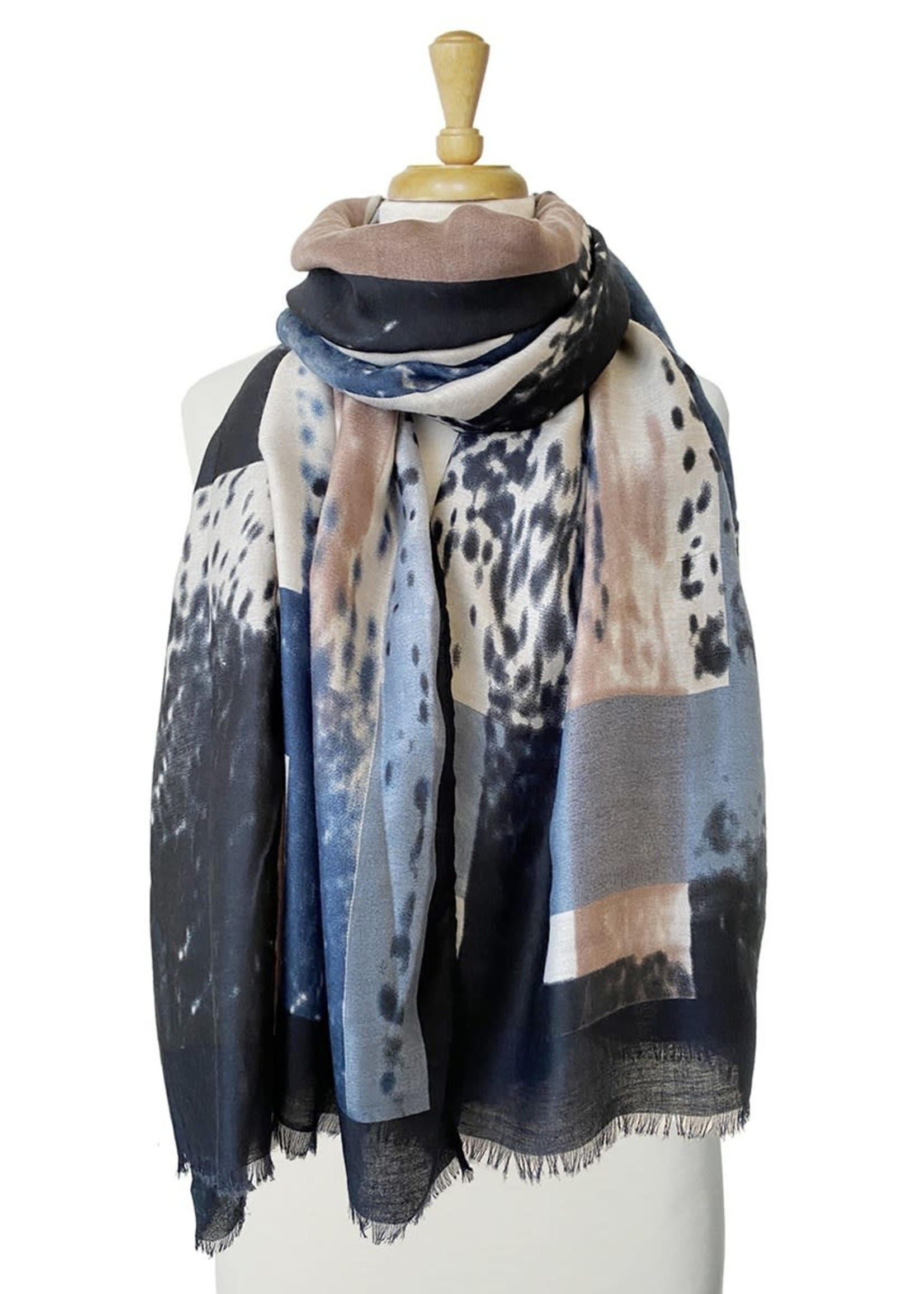 Caracol Caracol Scarf Blue