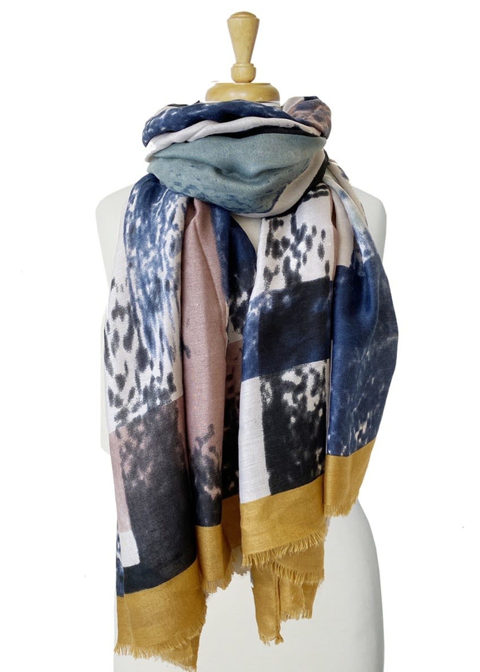 Caracol Caracol Scarf Yellow