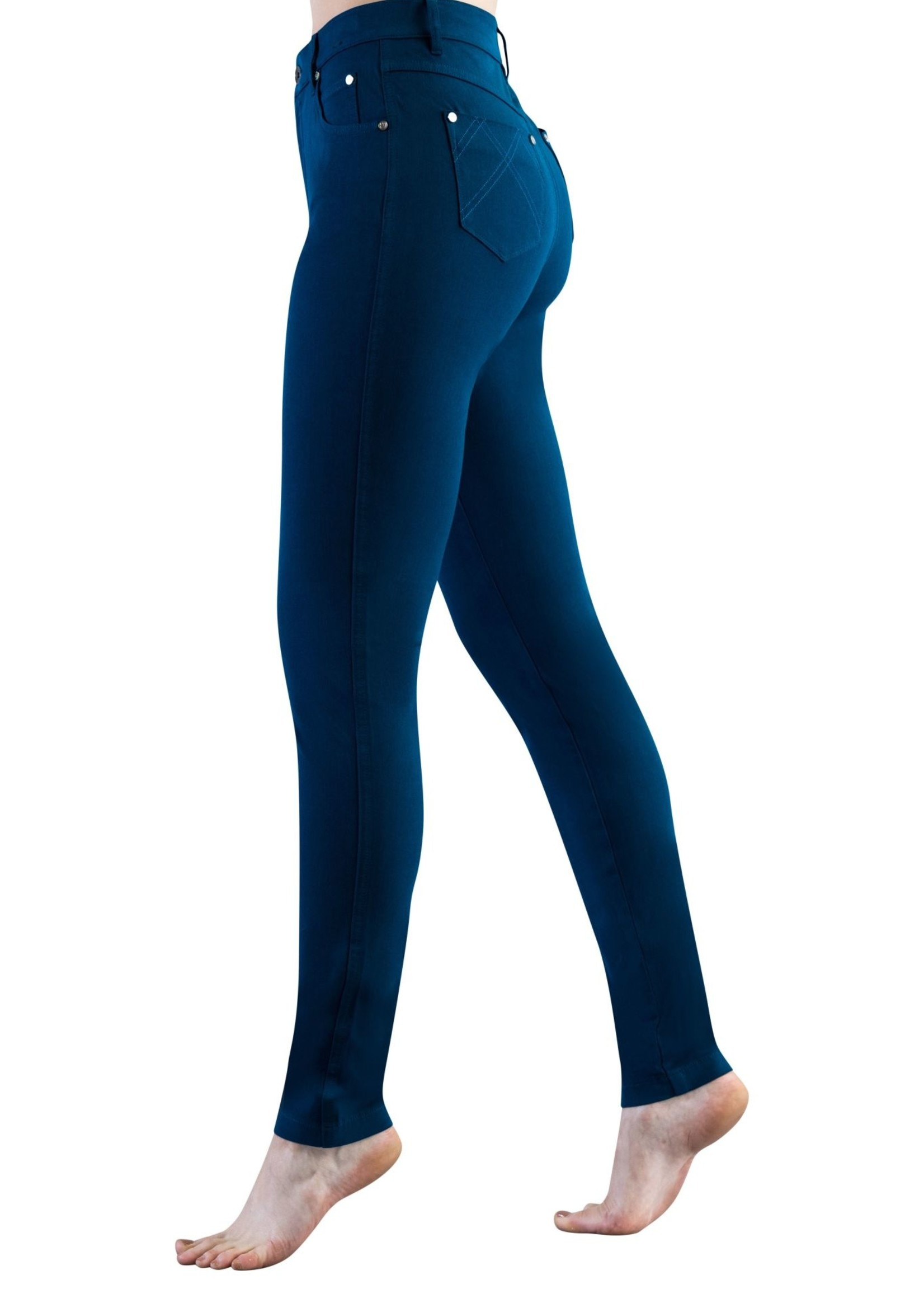 Marble Marble Jeans 4 Way Stretch Marine