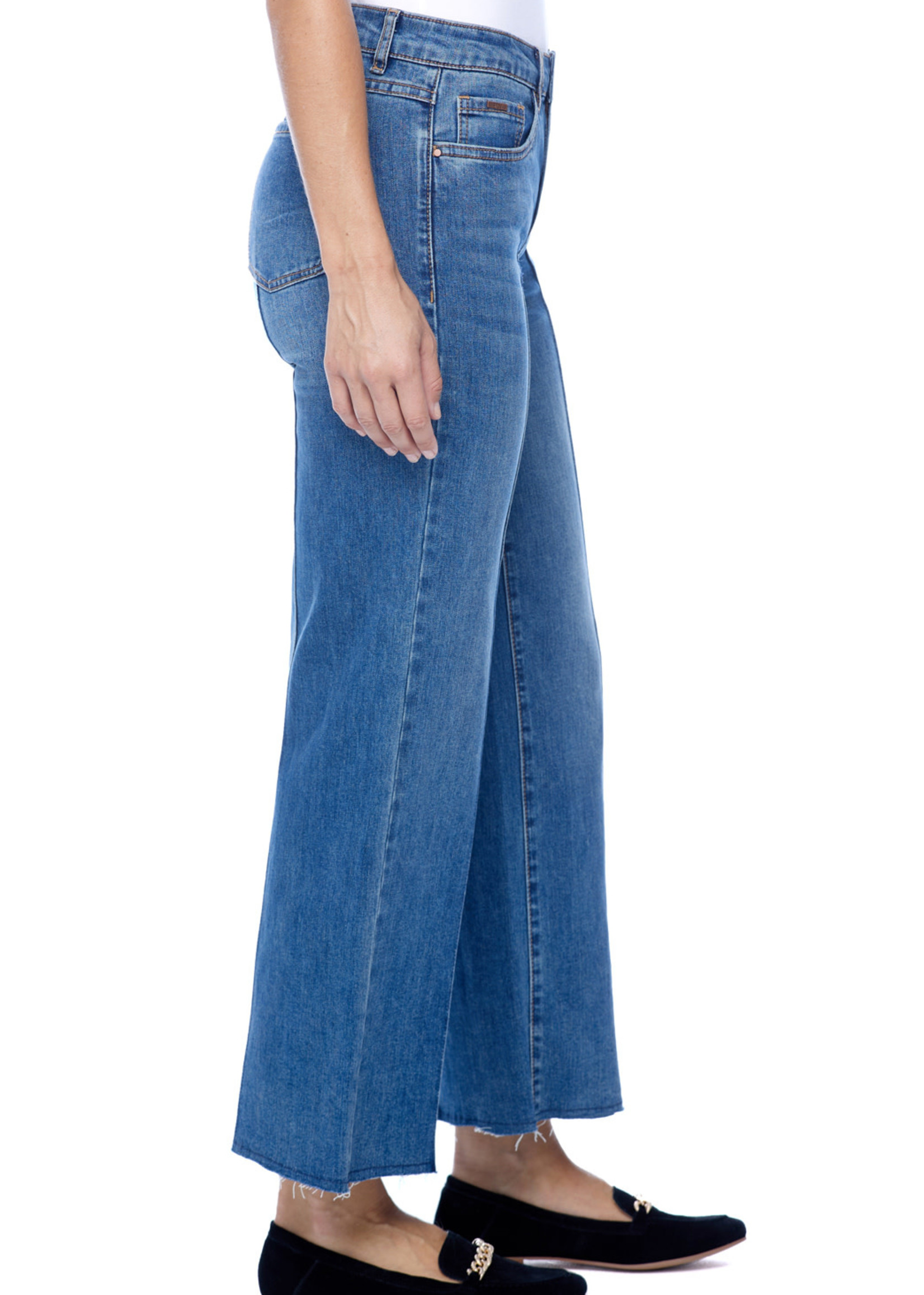 FDJ French Dressing FDJ Olivia Wide Leg Ankle Dark Indigo