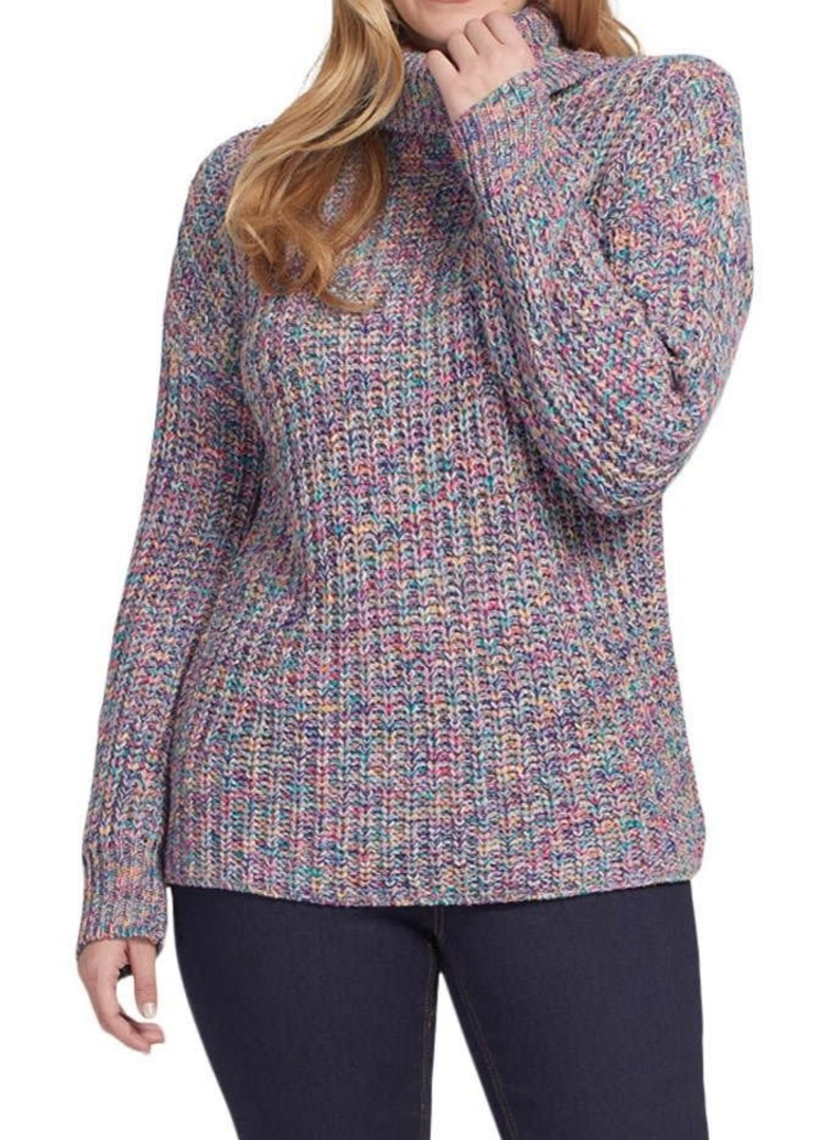 Tribal Tribal L/S Turtleneck Sweater