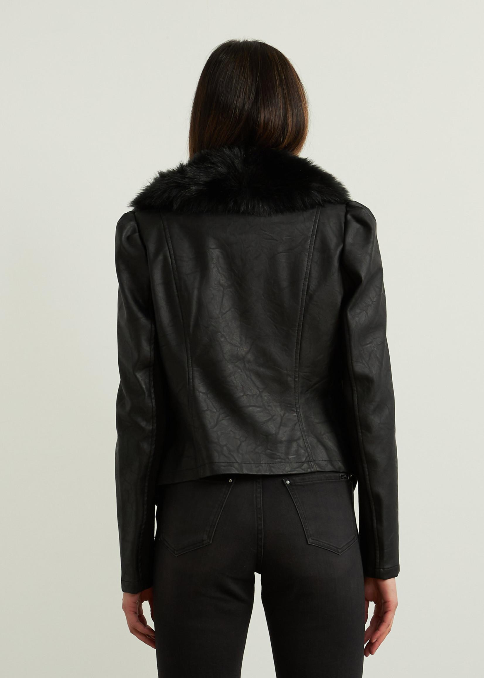 Joseph Ribkoff Joseph Ribkoff  Faux Fur Short Jacket