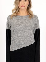 ISCA ISCA Colour Block Sweater Grey
