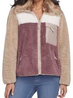 Tribal Tribal L/S Detachable Collar Jacket Mocha