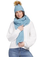 Tribal Tribal Scarf and Hat Set  Sweet Blue