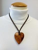 Zsiska Zsiska Small Heart Pendant Copper