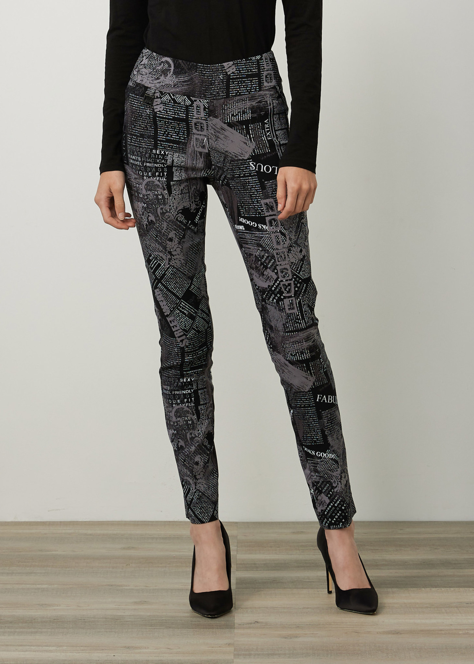 Joseph Ribkoff Joseph Ribkoff Slim Fit Printed Pant