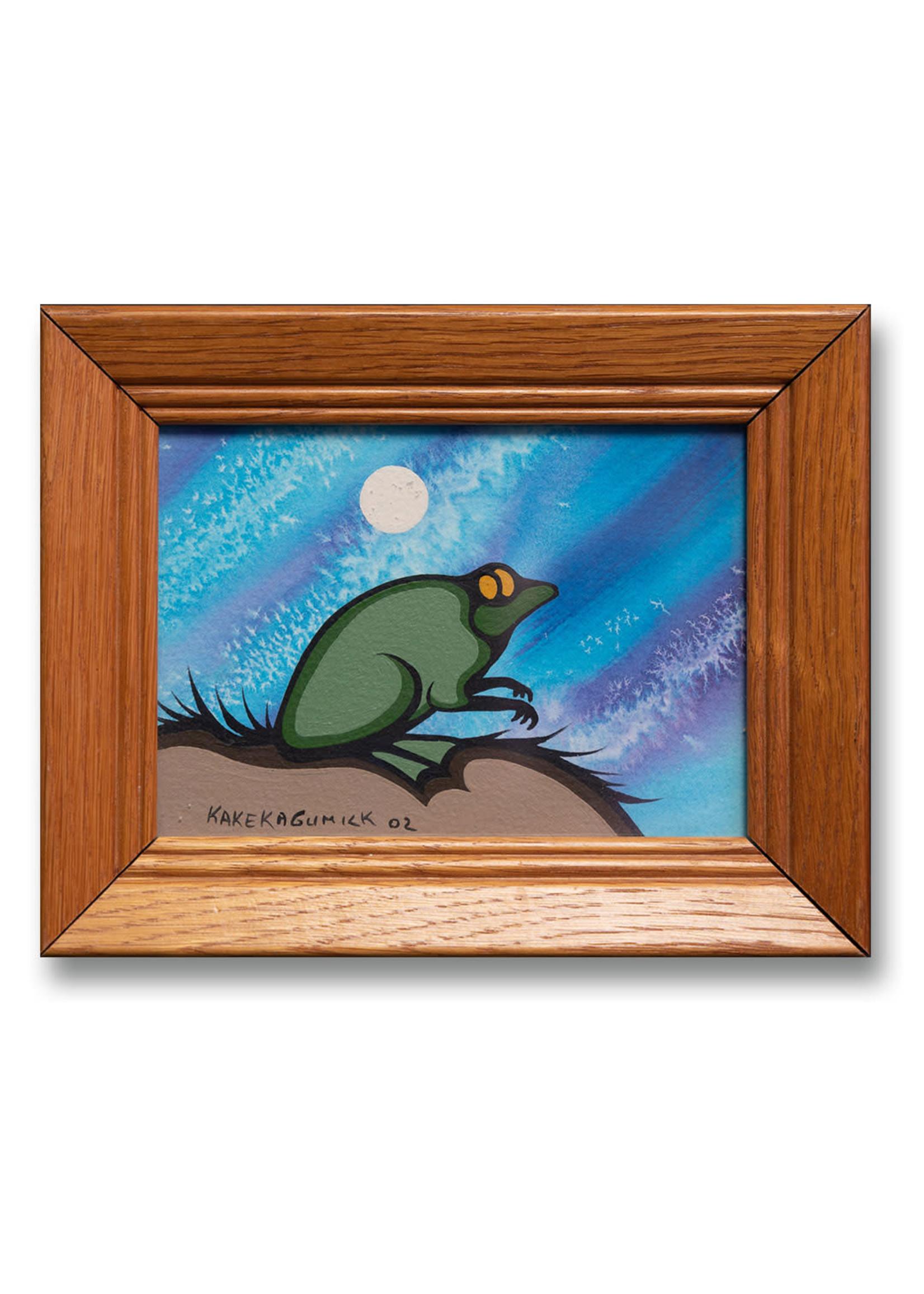 Frog in Moonlight