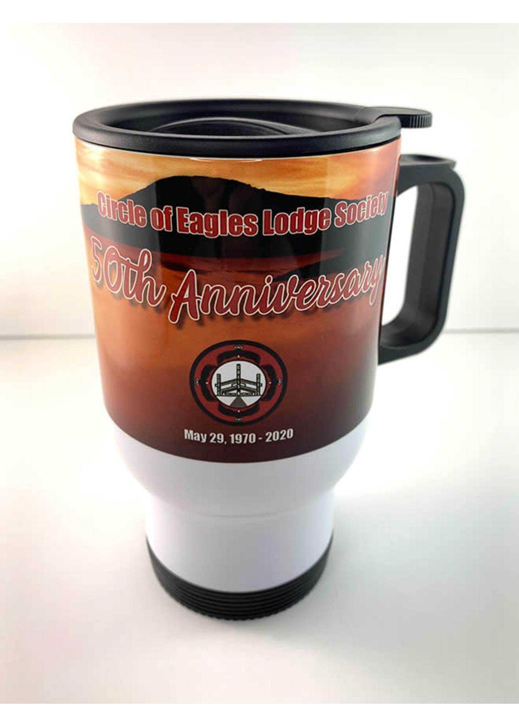 Circle of Eagles COELS 50th Anniversary Mug