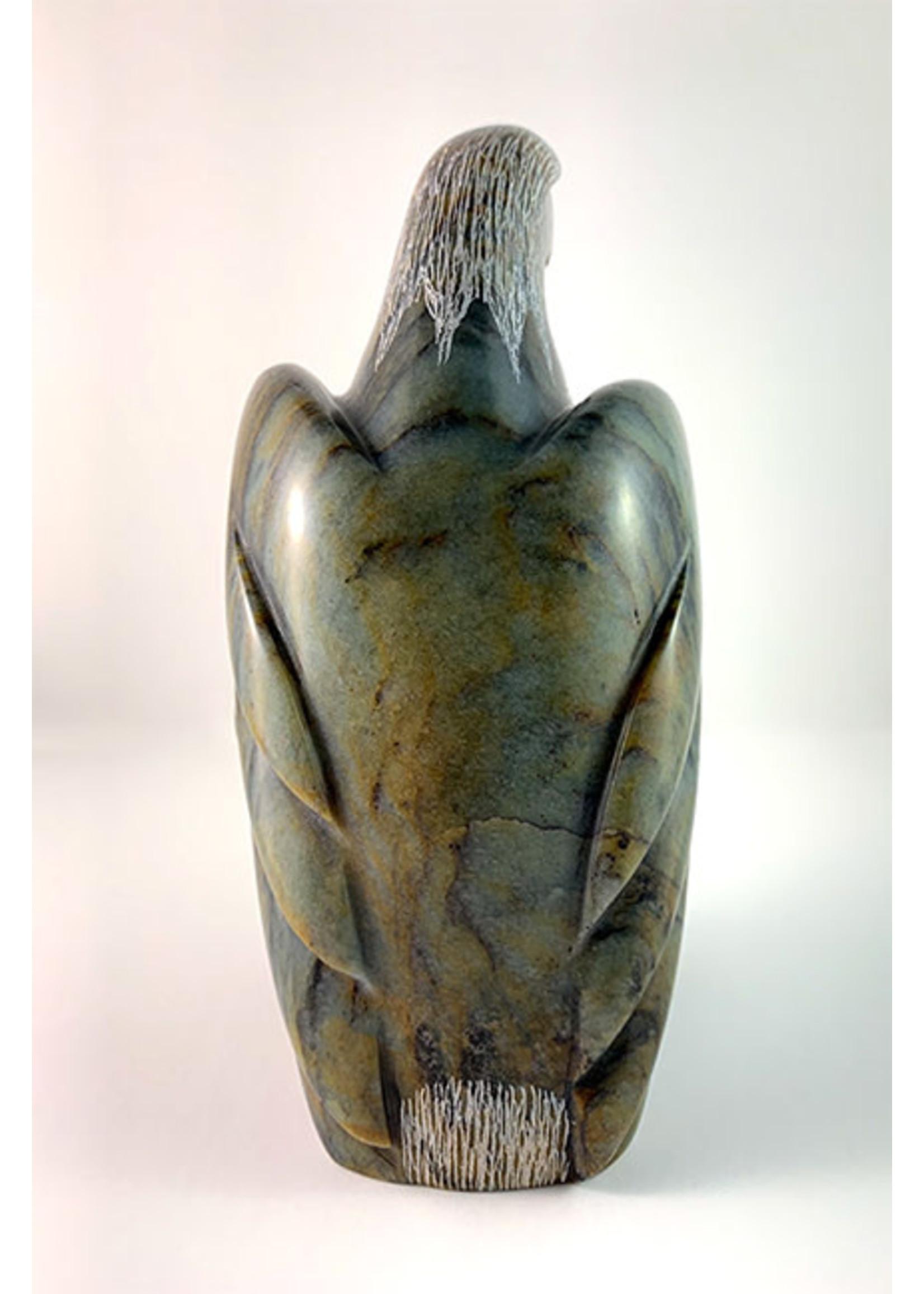 Howard Moose Soapstone Carved Eagle