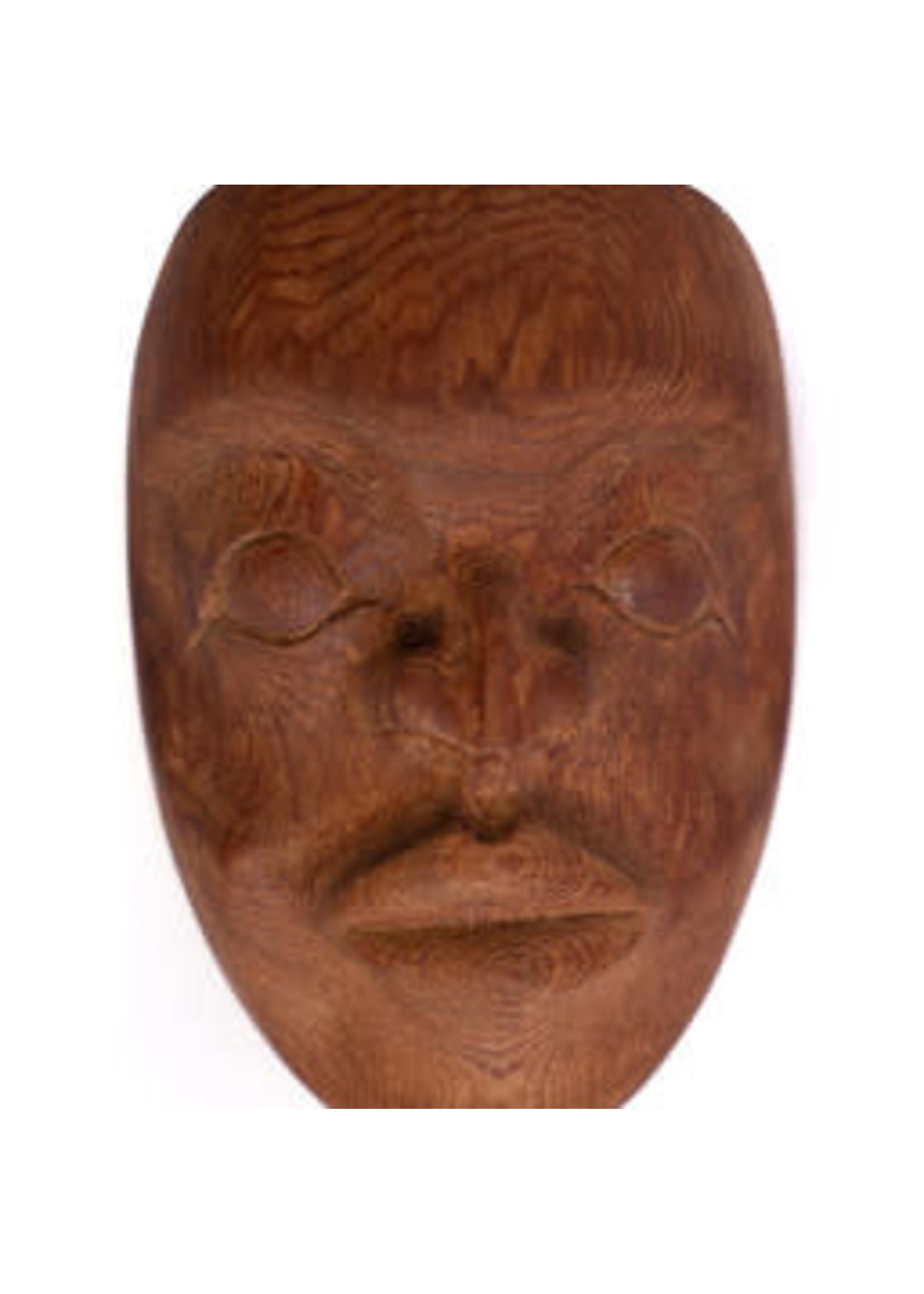 Natural - Carved Mask (SOLD)