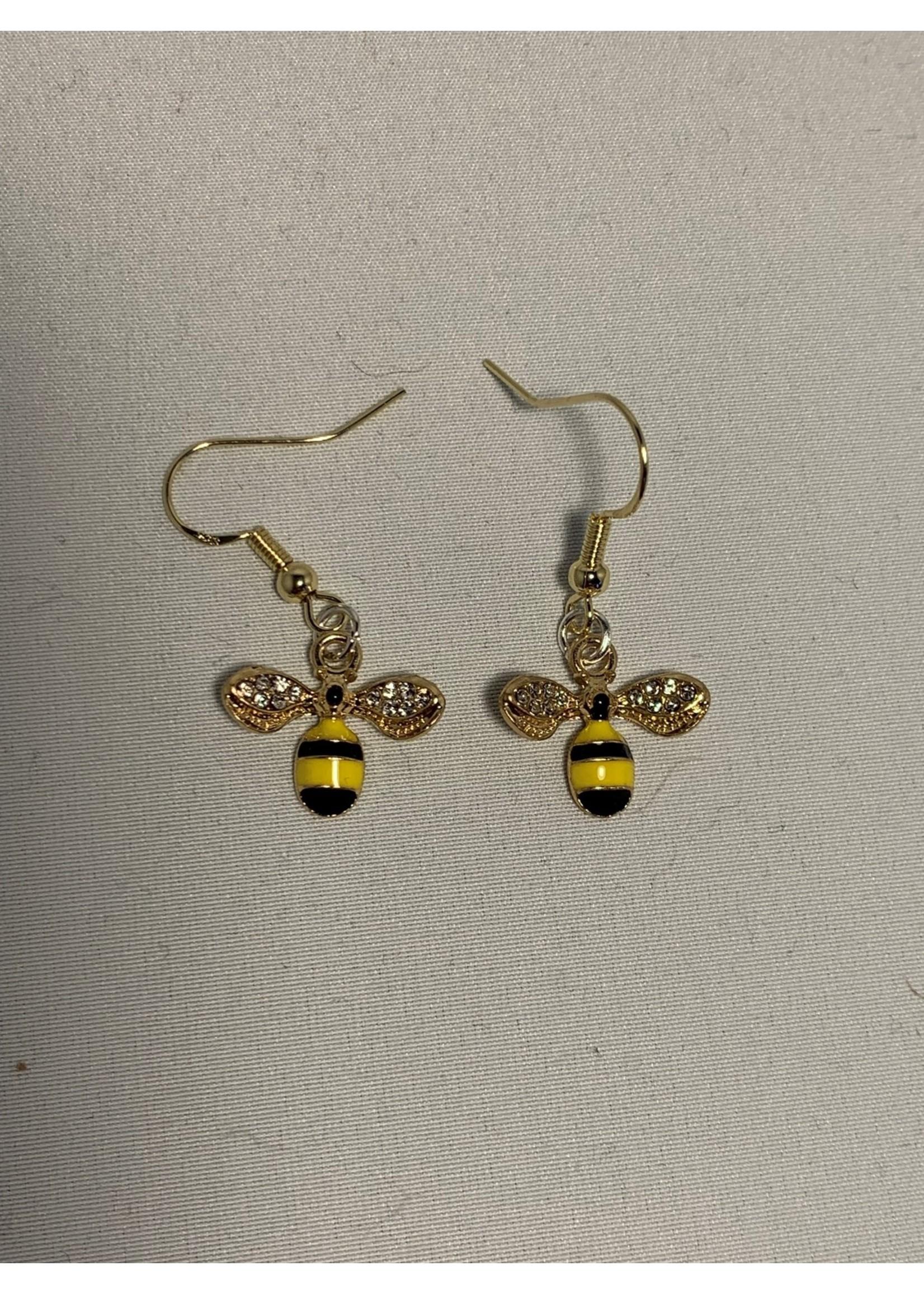 Earrings Bumblebees