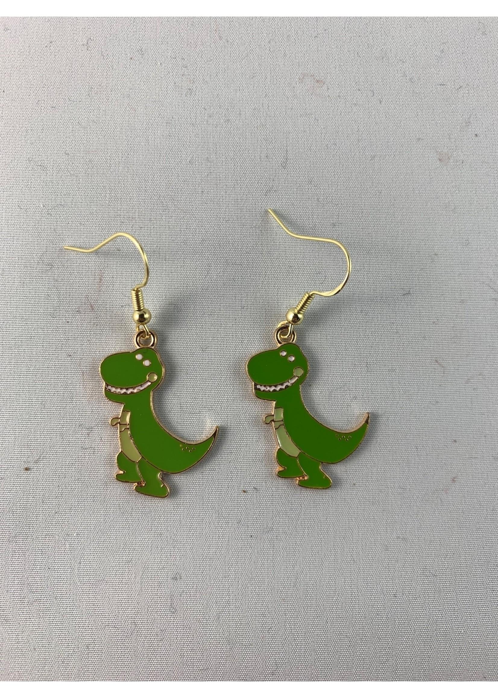 Earrings T-Rex (SOLD)