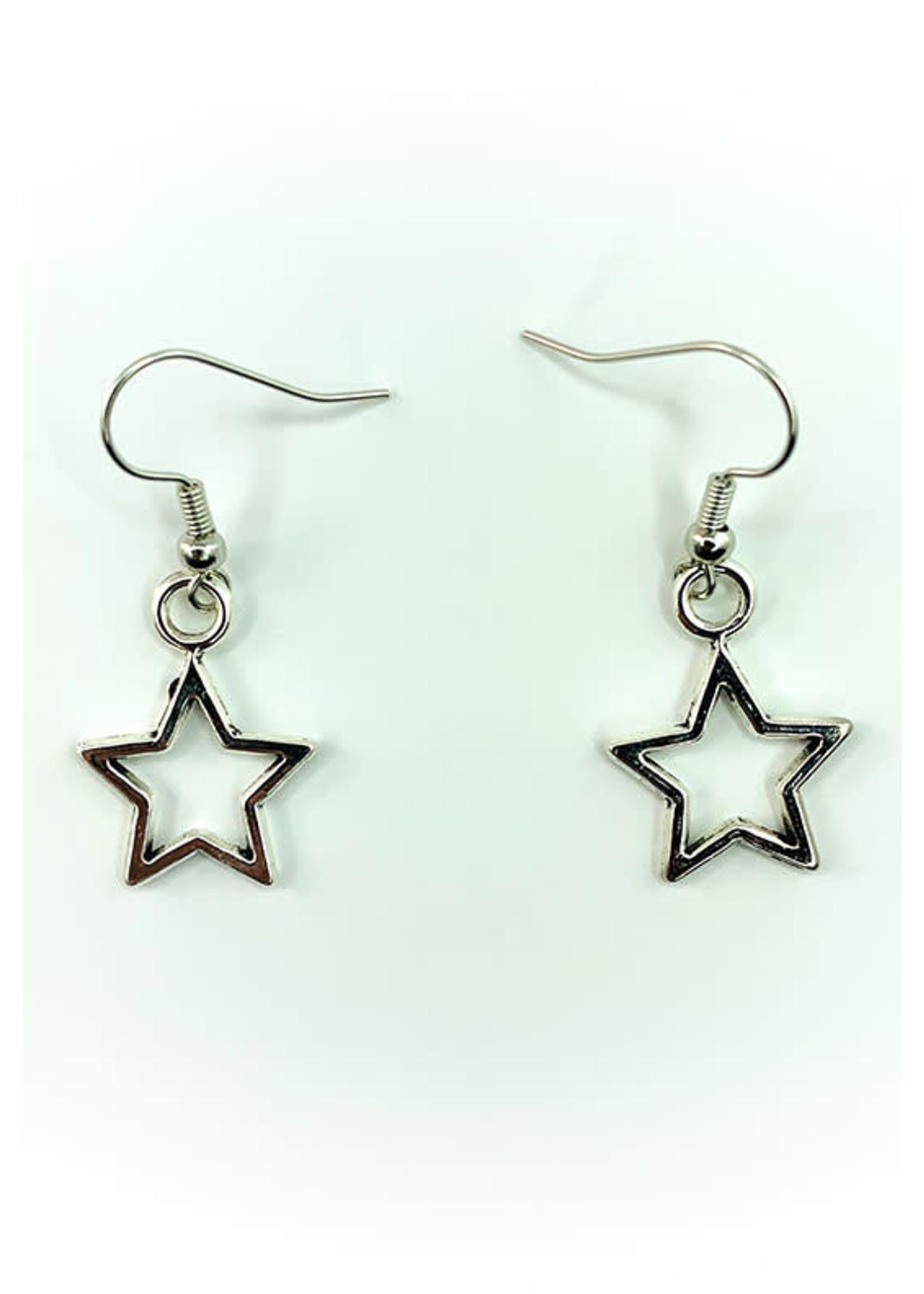 Earrings Silver Star