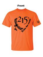 Woke the World Orange T-Shirts