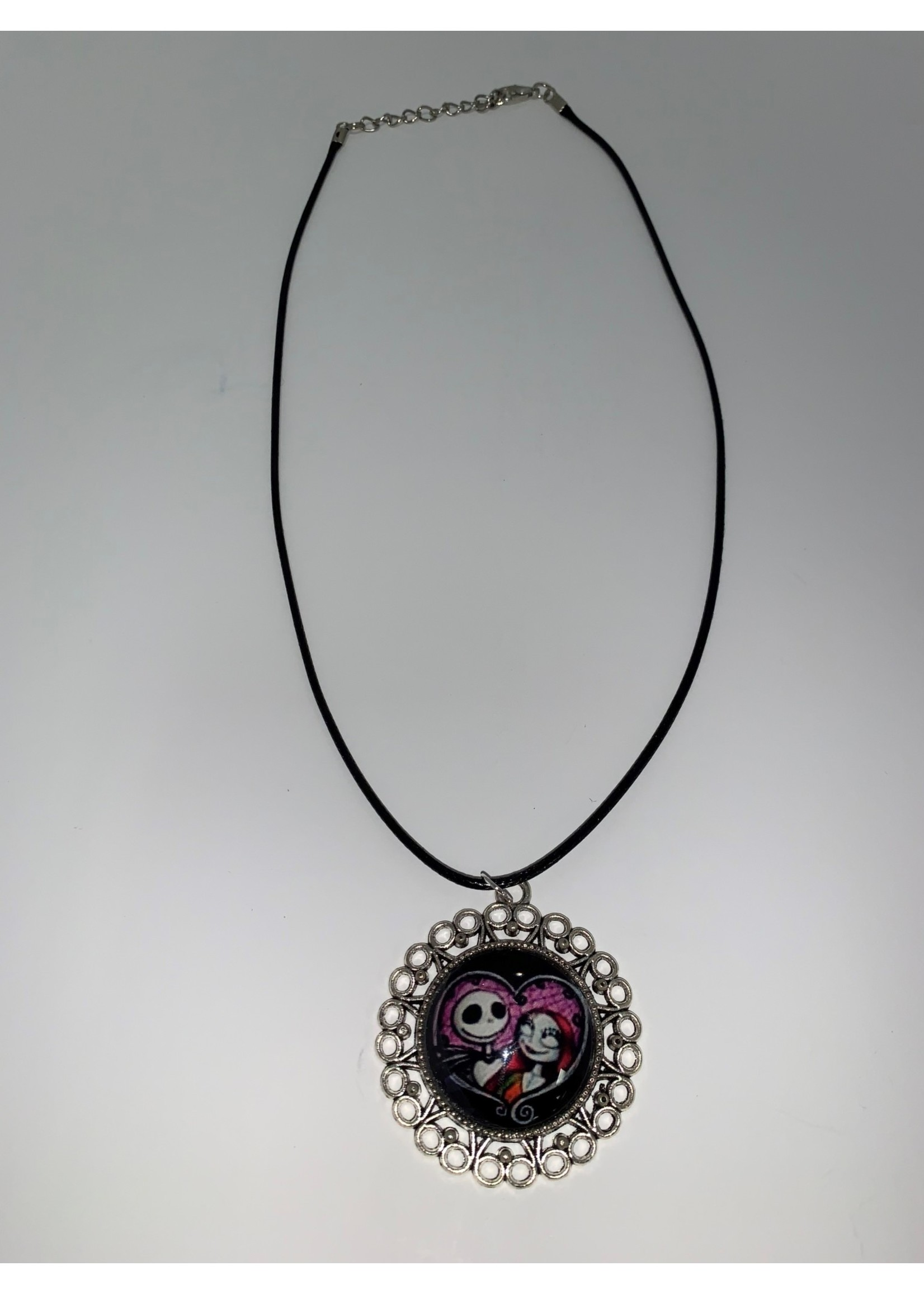 Cabochon Necklace Nightmare in Fancy Setting