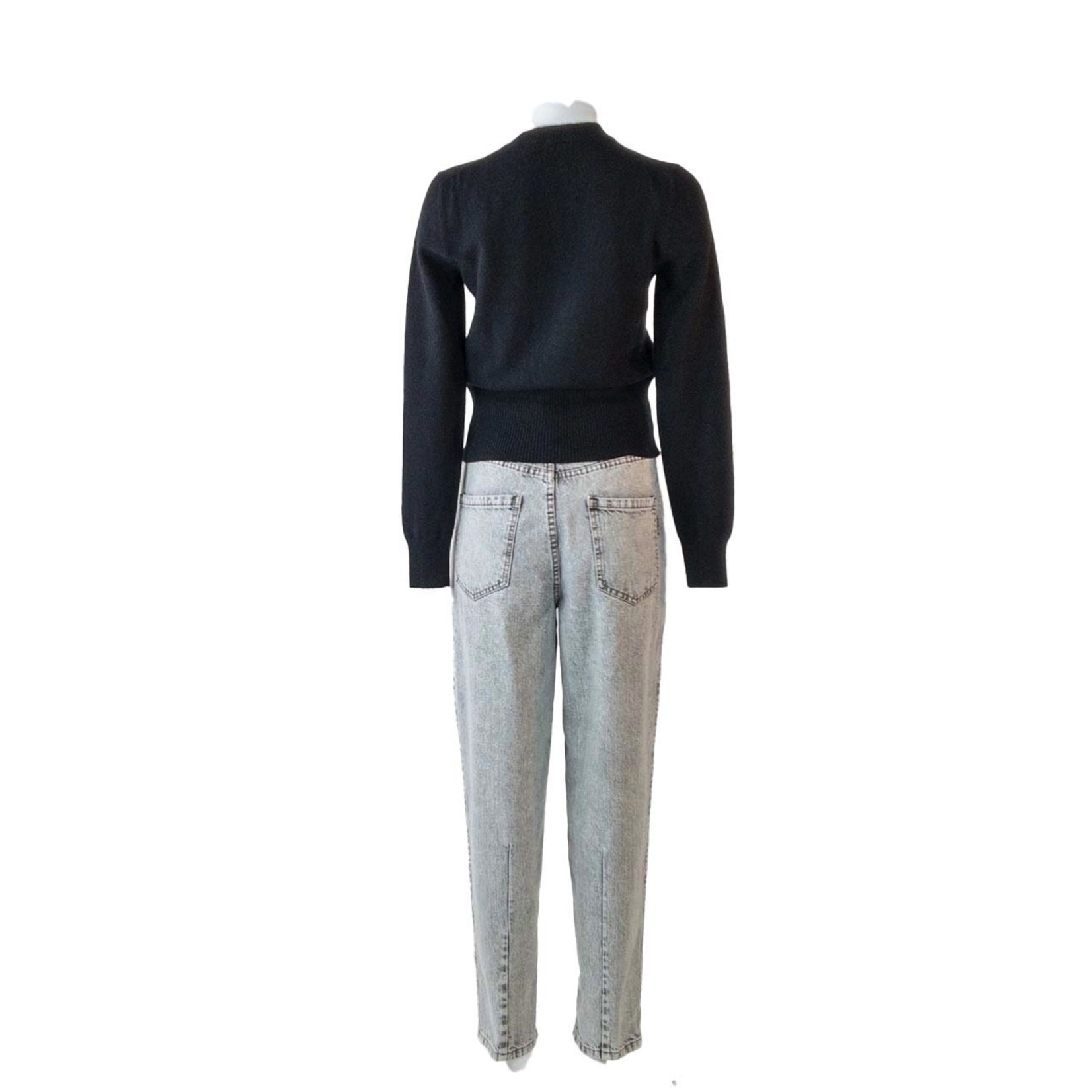 DUSAN FITTED CASHMERE SWEATER