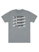 Out of Print A Word is Power T-Shirt - Adult Unisex