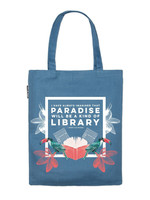 Out of Print Paradise Library Tote