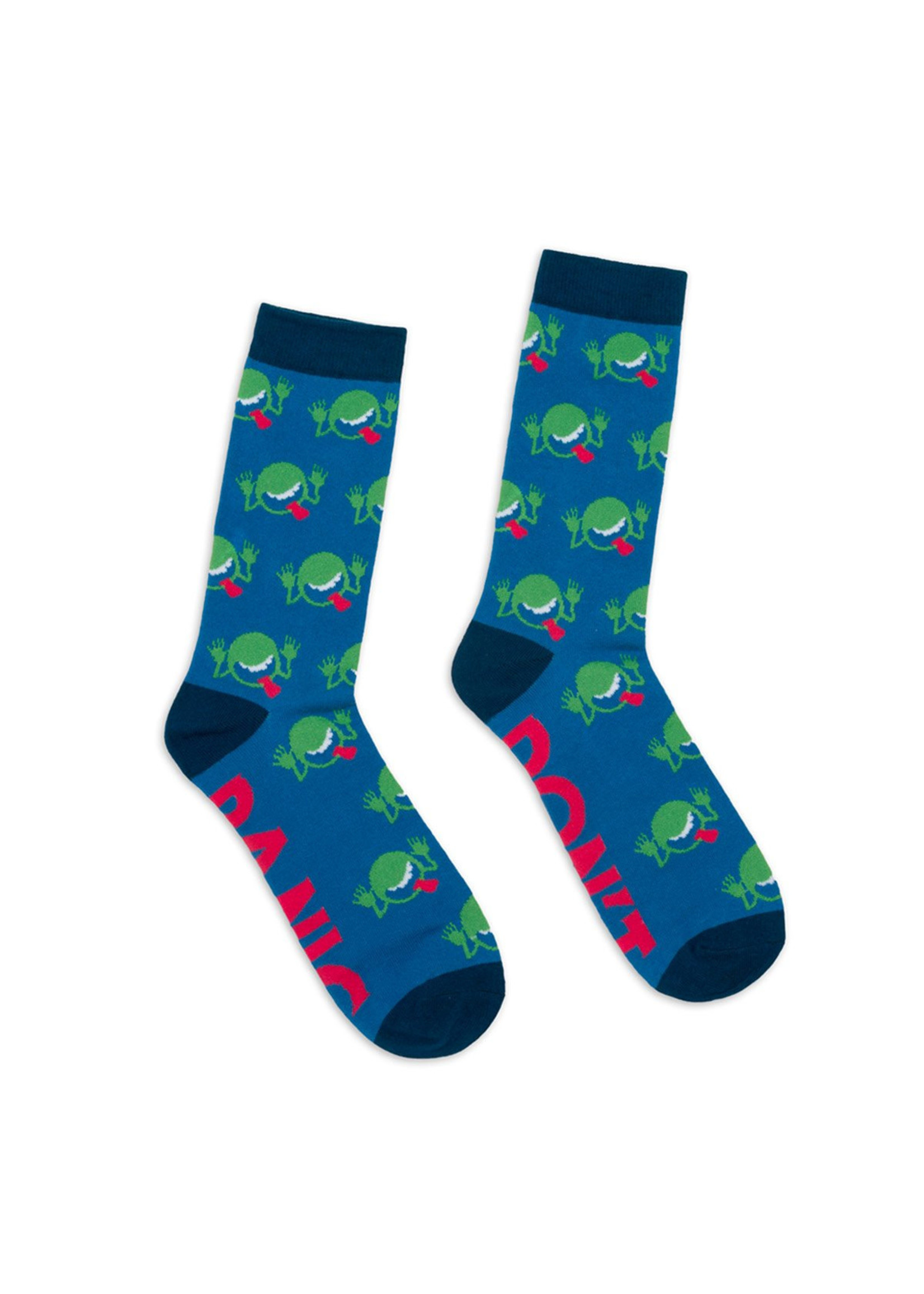 Out of Print The Hitchhiker's Guide to the Galaxy Socks - Adult