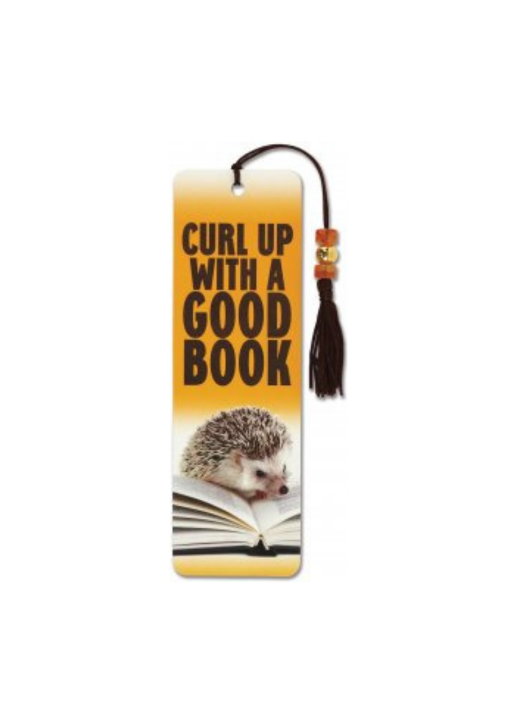 Peter Pauper Press Hedgehog Beaded Bookmark