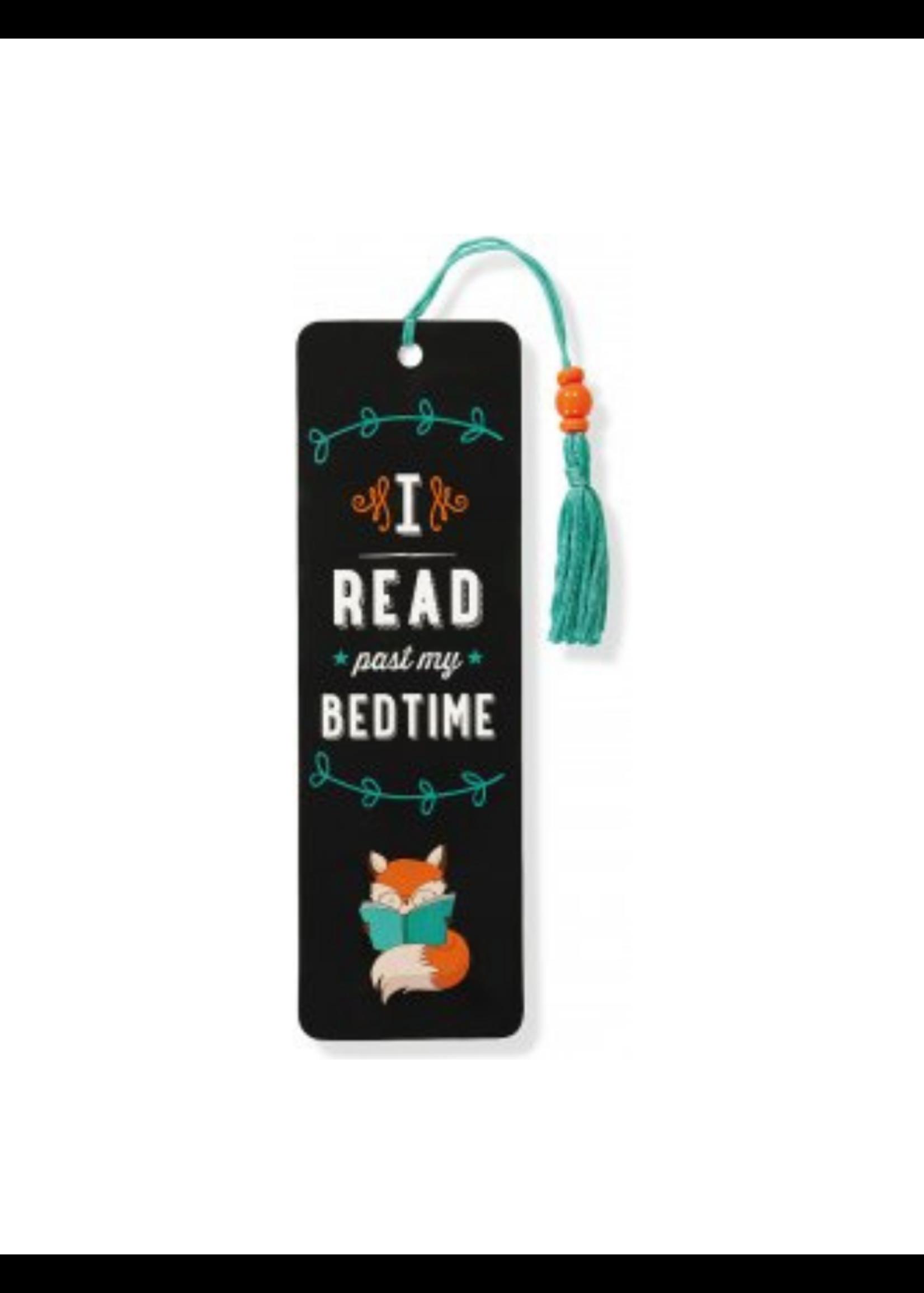Peter Pauper Press I Read Past My Bedtime Beaded Bookmark