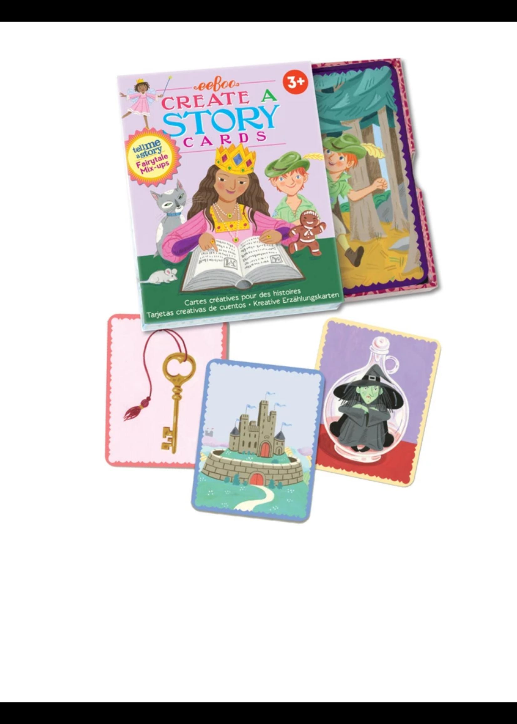 eeBoo Fairytale Mix Ups Create a Story Cards