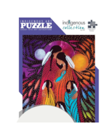 Indigenous Collection by CAP Family, by Betty Albert - Cree,  1000pc Puzzle