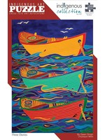 Indigenous Collection by CAP Three Dories by Dawn Oman 1000pc Puzzle