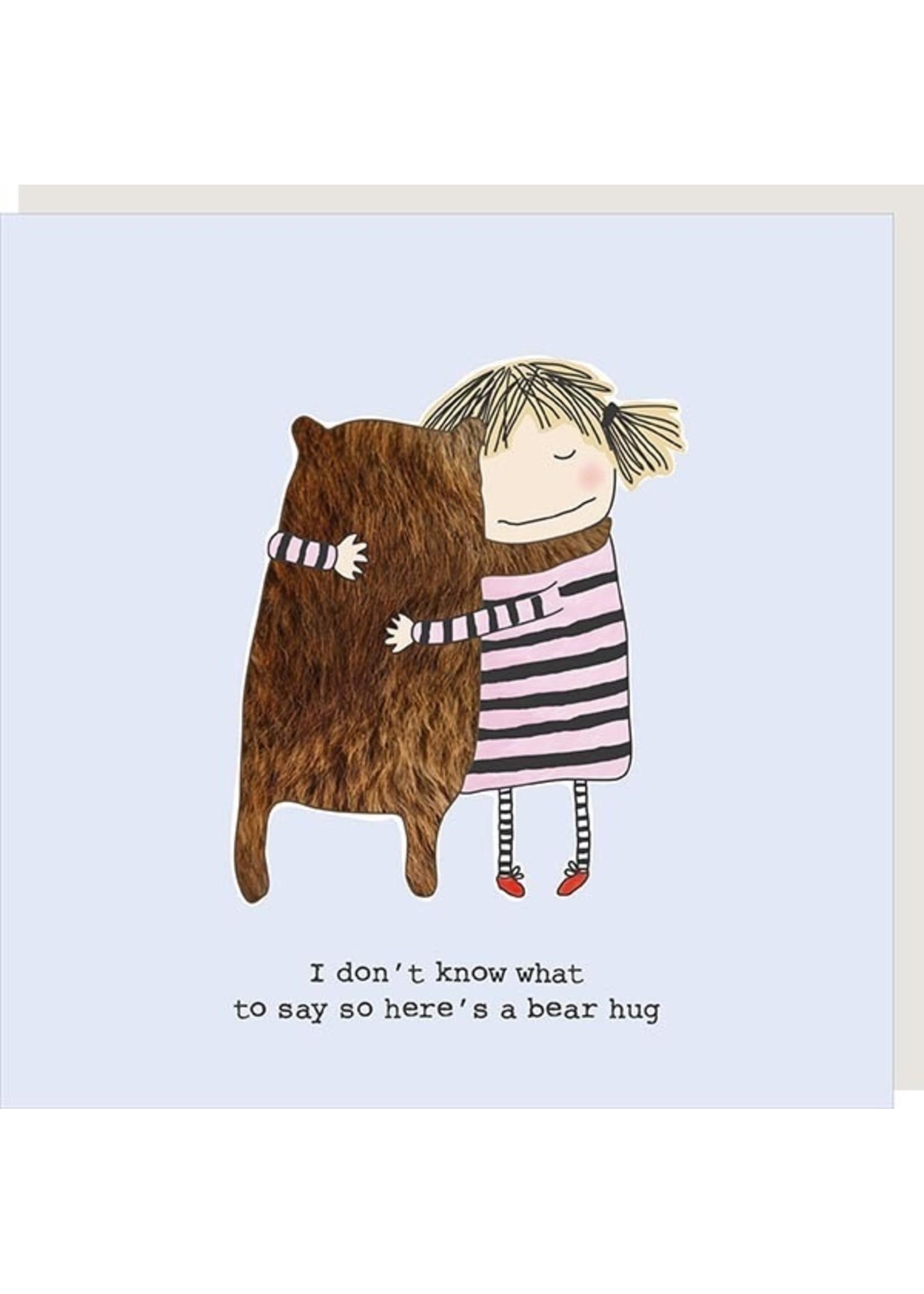 Rosie Made a Thing Bear Hug