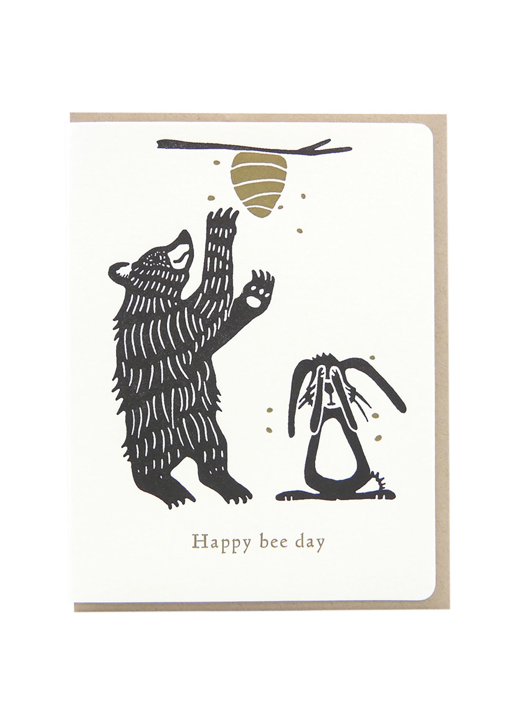 Dogwood Letterpress Happy Bee Day