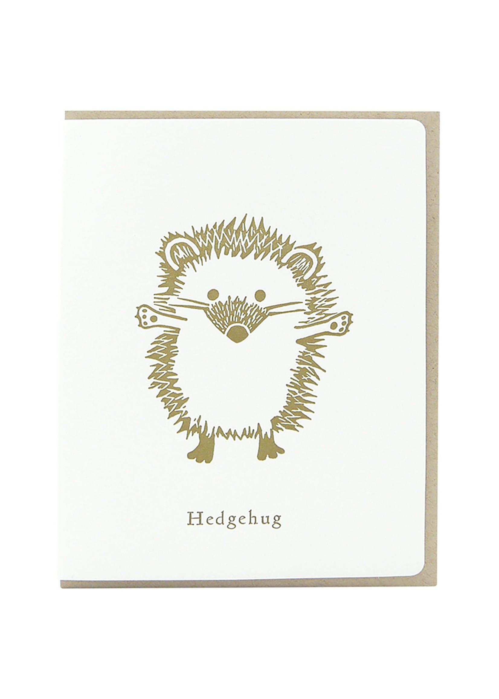 Dogwood Letterpress Hedgehug