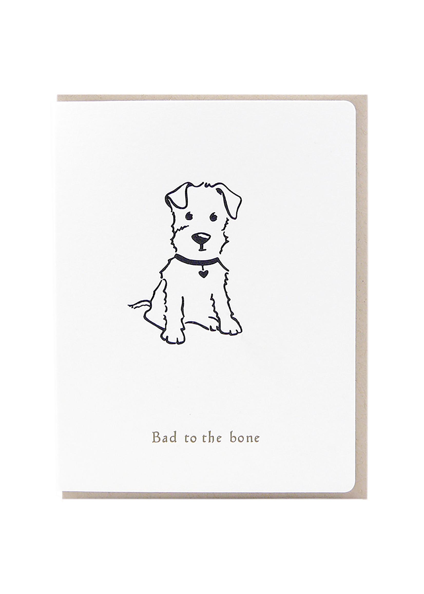 Dogwood Letterpress Bad To The Bone