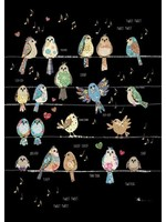 Bug Art Birds Tweets