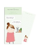 Rosie Made a Thing Alexa Gin -  Magnetic Notepad