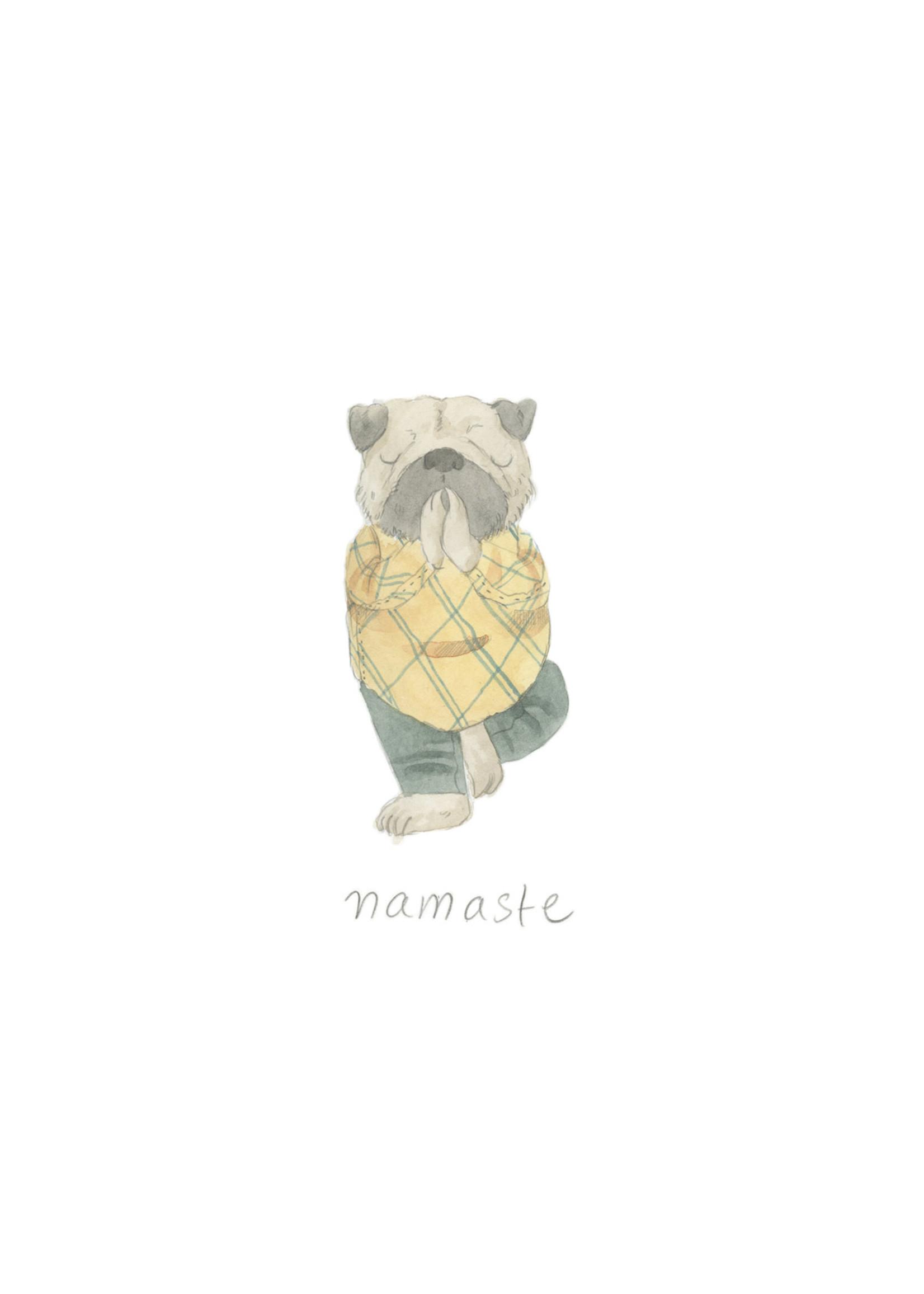 Inkwell Cards Namaste