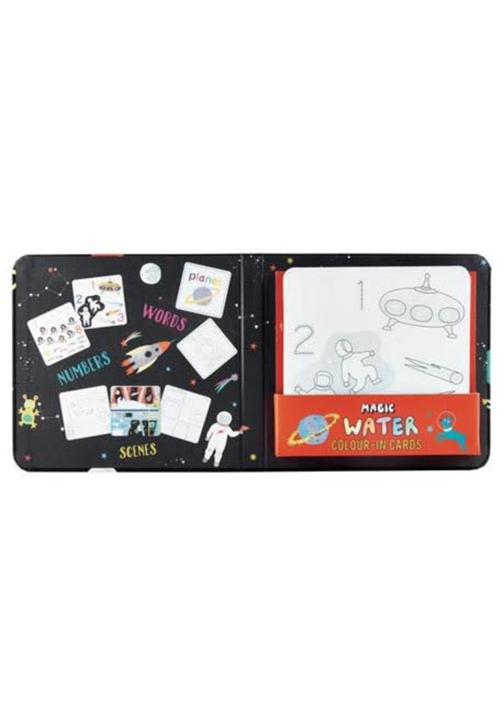 Floss & Rock Magic Water Cards  Space