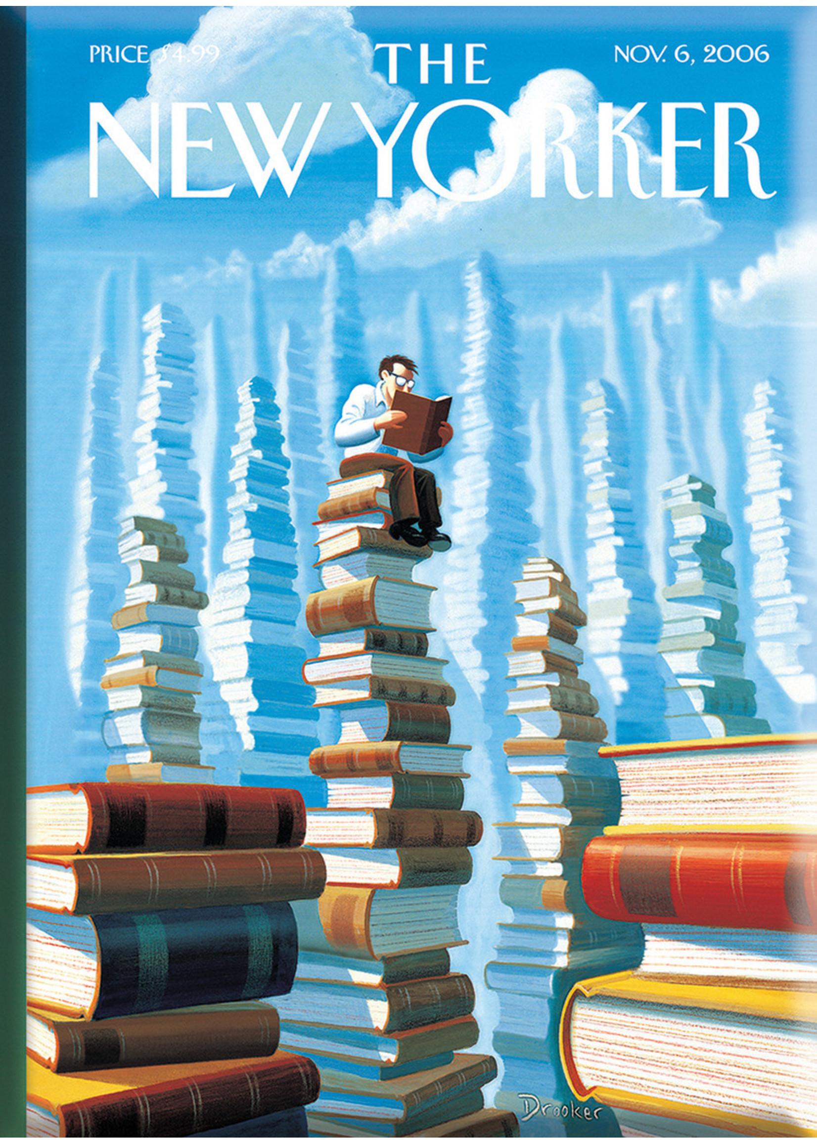 Nelson Line New Yorker Magnet Reading
