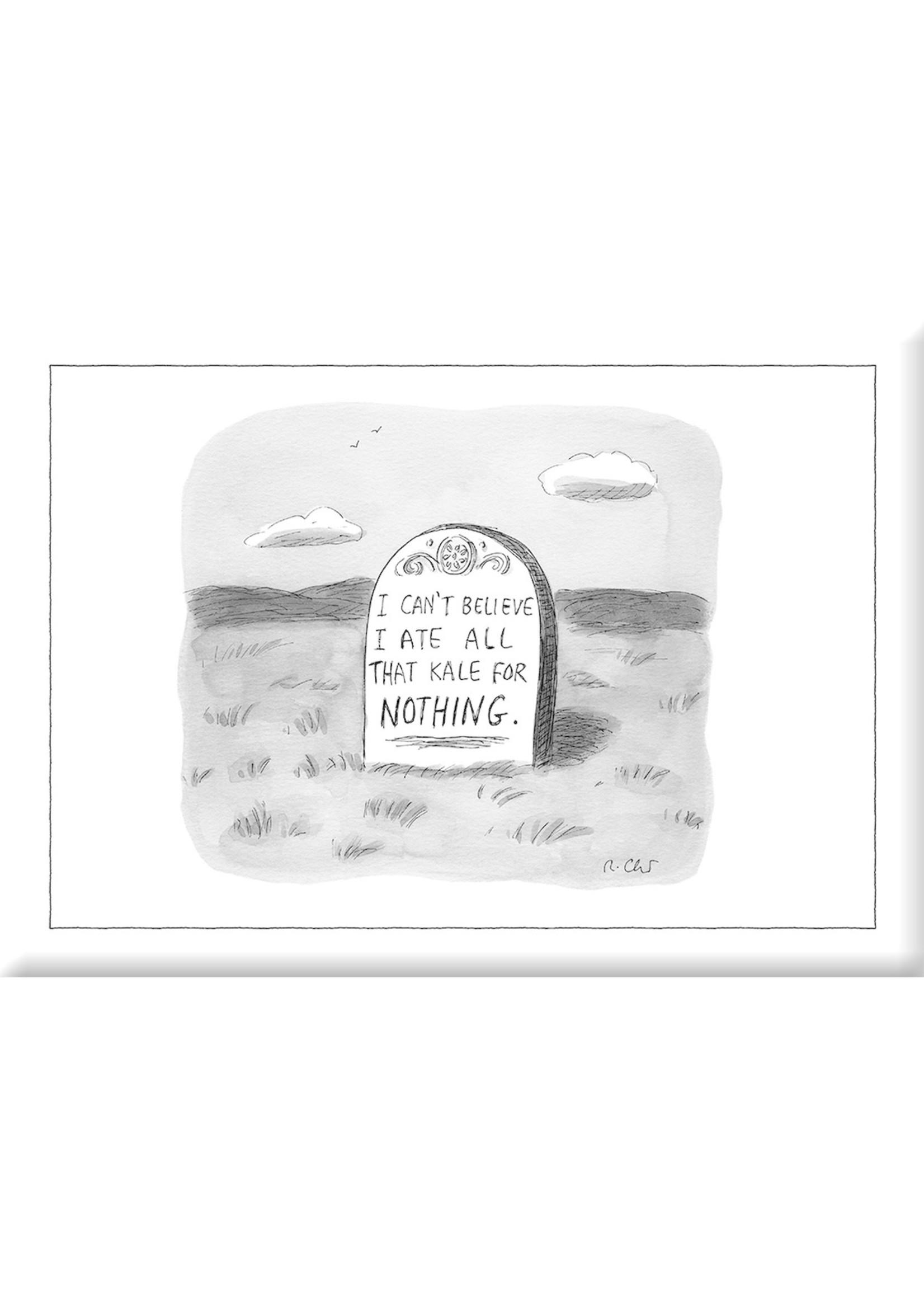 Nelson Line New Yorker Magnet Kale