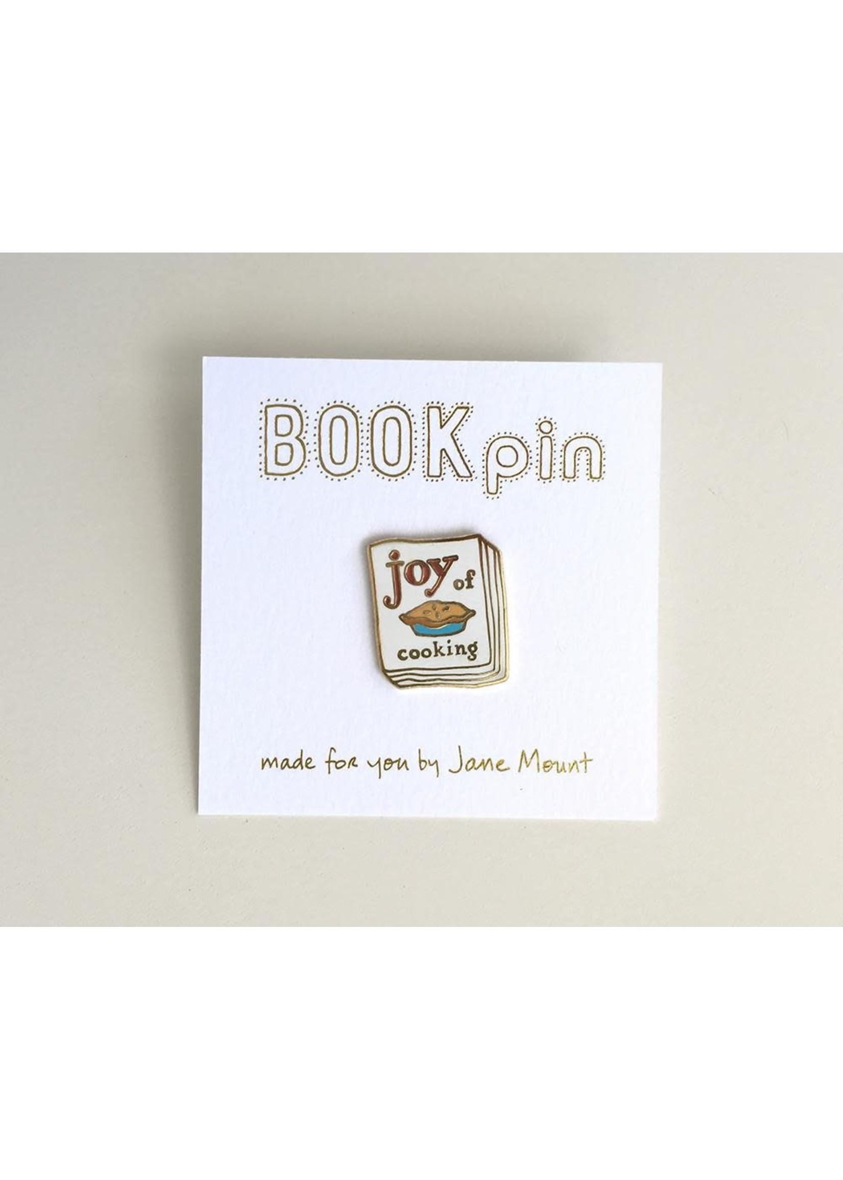 Ideal Bookshelf Joy of Cooking Book Pin