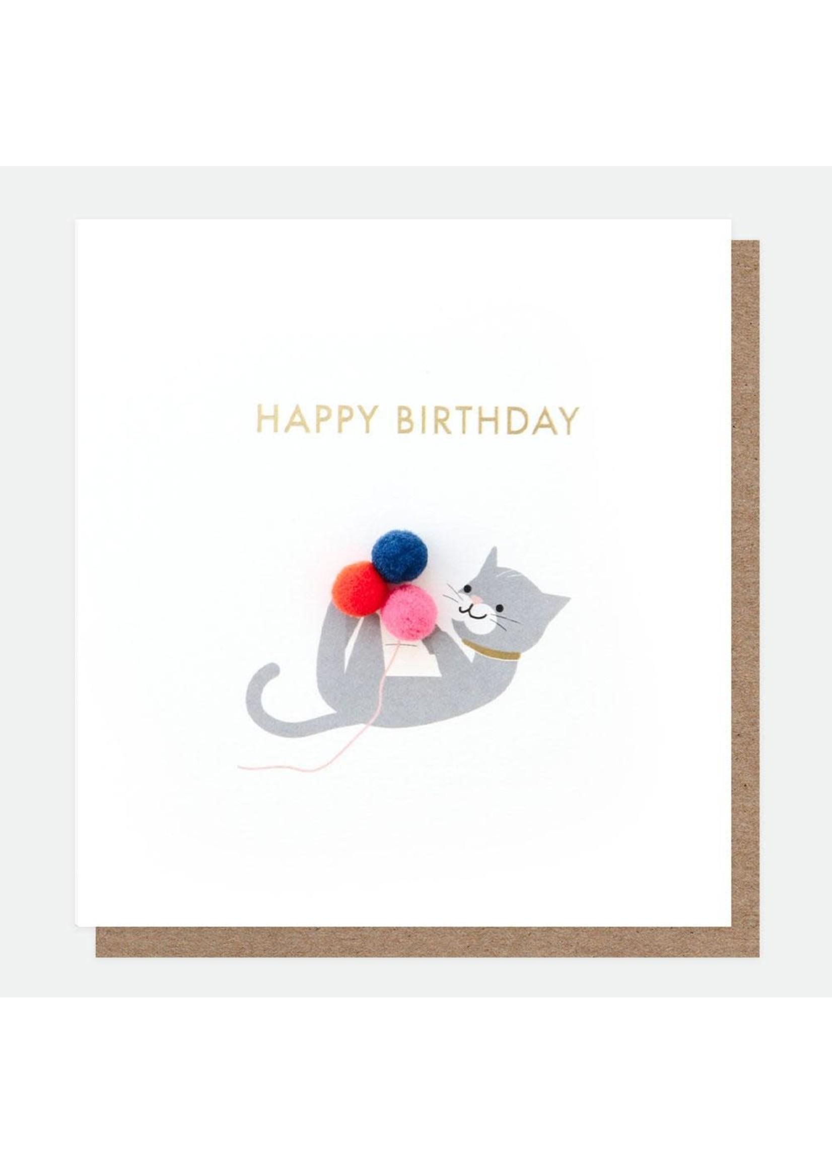 Caroline Gardner Cat - Mini Poms